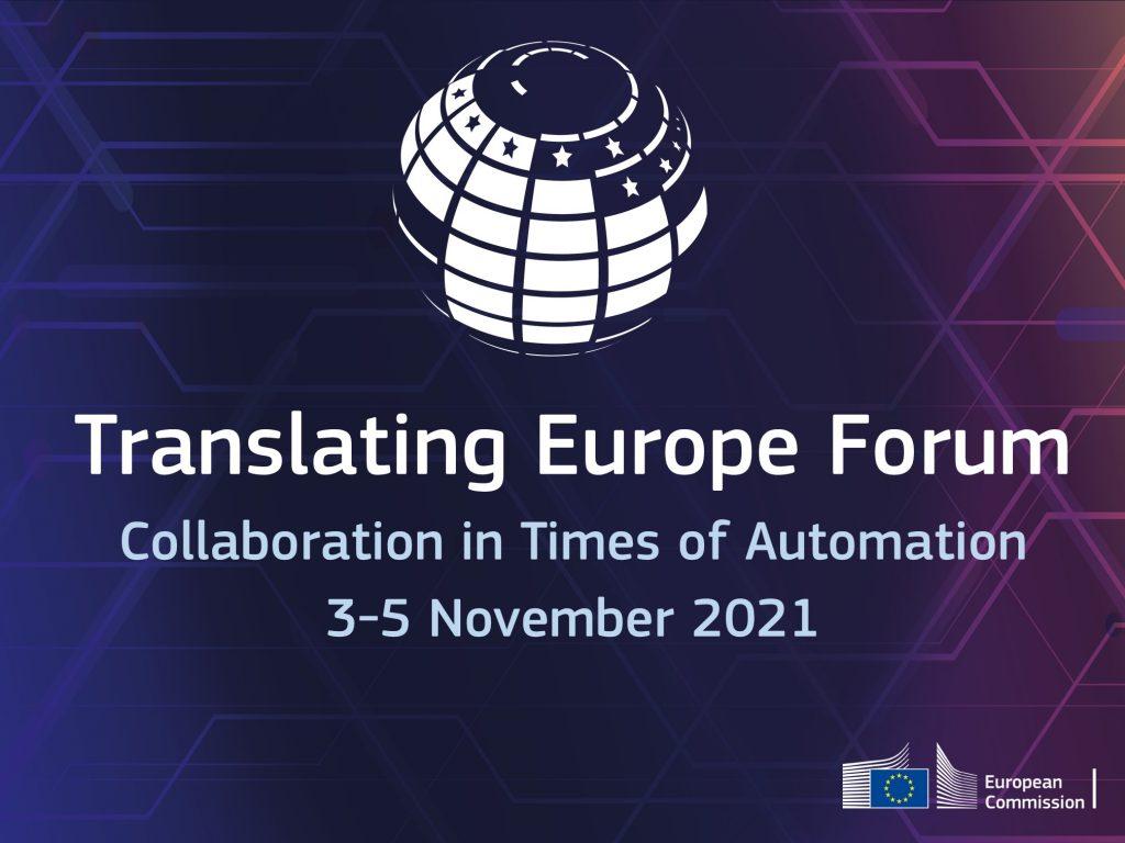 Translating Europe Forum 2021